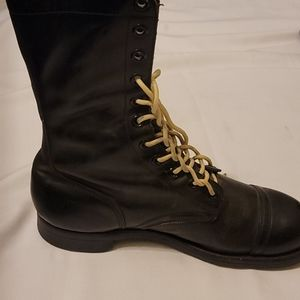 Panco steel toe combat military boots size 9